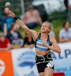 30.05.2015, Moeslestadion, Goetzis, AUT, 41. Hypo Meeting 2015, Siebenkampf der Frauen, Kugelstossen, im Bild Verena Preiner (AUT) // Verena Preiner of Austria during the 41. Hypo Meeting Goetzis 2013, Women' s Heptathlon, Shot put, at the Moeslestadion, Goetzis, Austria on 2015/05/30. EXPA Pictures © 2015, PhotoCredit: EXPA/ Peter Rinderer