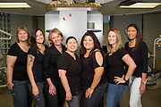 Associates pose for a headshot at Los Gatos Pediatric Dentistry in Los Gatos, California, on April 14, 2016. (Stan Olszewski/SOSKIphoto)