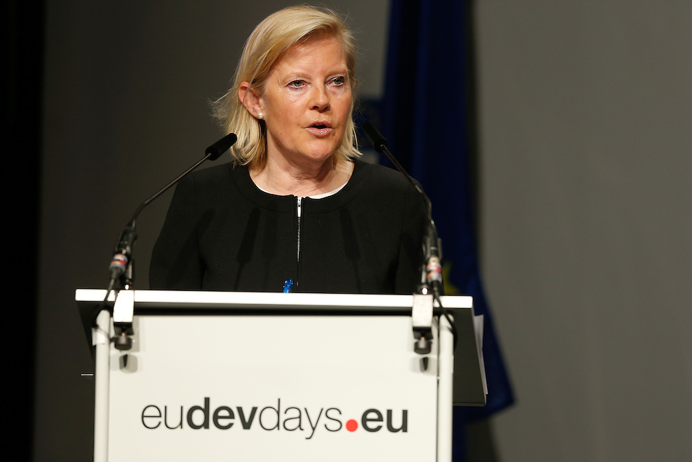 03 June 2015 - Belgium - Brussels - European Development Days - EDD - Human Rights - Sustainable Development Goal - What role for the National Human Rights Institutions? - Lotte Knudsen ,  Director for Human Development and Migration, European Commission © European Union