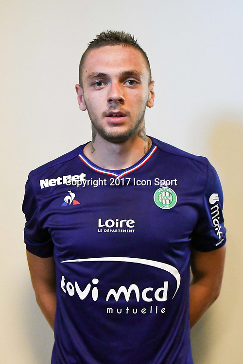 Anthony Maisonnial during the friendly match between As Saint-Etienne and FC Stade Nyonnais on July 5, 2017 in Saint-Etienne, France. (Photo by Philippe Le Brech /Icon Sport)