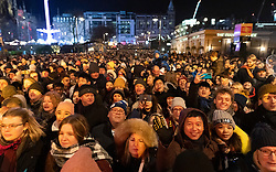 Edinburgh, Scotland, UK. 31st Dec 2019. Edinburgh's famous Hogmanay party. Pictured, crowds at Waverley Stage to see Marc Almond. Iain Masterton/Alamy Live News