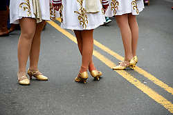 Second annual Mummers' Mardi Gras parade brings thousands to Manayunk as 17 Mummers String Band Brigades march Main Street in the Northwest Philadelphia neighborhood, on Feb. 20, 2016.