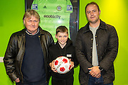 Carlesberg, match ball sponsors during the Vanarama National League match between Forest Green Rovers and Tranmere Rovers at the New Lawn, Forest Green, United Kingdom on 22 November 2016. Photo by Shane Healey.