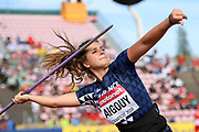 Jona Aigouy (FRA) competes in Javelin Throw Women during the IAAF World U20 Championships 2018 at Tampere in Finland, Day 1, on July 10, 2018 - Photo Julien Crosnier / KMSP / ProSportsImages / DPPI