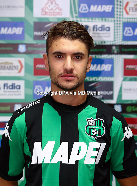 Italian League Serie A -2015-2016 / <br /> ( US Sassuolo Calcio ) - <br /> Luca Antei