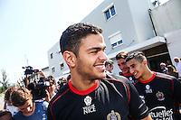 Hatem Ben Arfa  - 29.06.2015 - Reprise Entrainement de Nice - 2015/2016<br />Photo : Serge Haouzi / Icon Sport