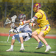 Washington College - Salisbury State Men's Div III Lacrosse at Washington College in Chestertown, MD on 11 March 2017. Salisbury won the game 14 - 1.  Photograph  by Jim Graham