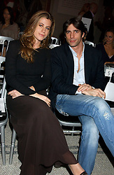 FRANCESCA VERSACE and NICOLO MINARDI at a fashion show and after party to celebrate the 20th Anniversay of fashion designer Ozwald Boateng held at the Victoria & Albert Museum, London on 25th November 2005.<br /><br />NON EXCLUSIVE - WORLD RIGHTS