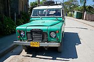 Land Rover in Velasco, Holguin, Cuba.