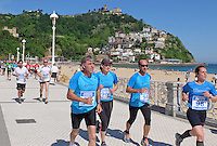 Charity fun run, Paseo Eduardo Chillida, San Sebastian, Donostia, Spain, May, 2015, Playa de Ondarreta, 201505100980<br />