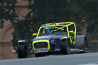 #34 Andrew Hough Caterham Superlight R 1800 during the CSCC Gold Arts Magnificent Sevens at Oulton Park, Little Budworth, Cheshire, United Kingdom. October 15 2016. World Copyright Peter Taylor/PSP. <br /> Copy of publication required for printed pictures.  Every used picture is fee-liable. http://archive.petertaylor-photographic.co.uk