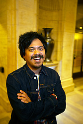 """Actor Patrick Epino of """"Bitter Melons"""" poses for a photograph at the Gala for the CAAM Film Festival, at the Asian Art Museum, Thursday, May 10, 2018 in San Francisco, Calif. (D. Ross Cameron/SF Chronicle)"""