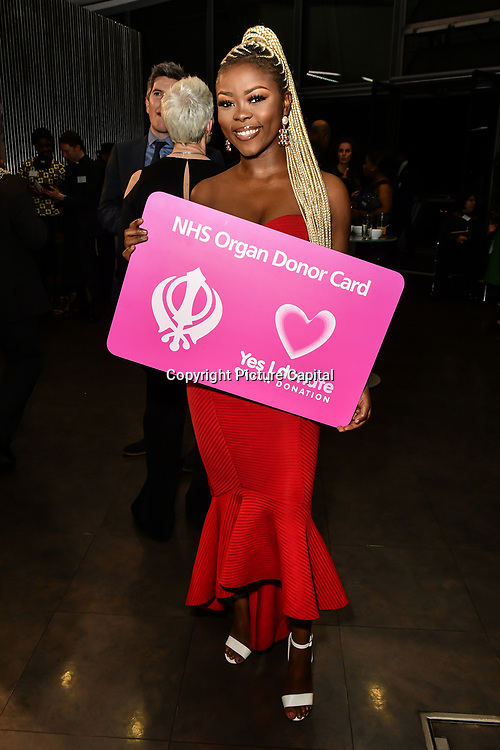 Gifty Louise attend The BAME Donor Gala - Awareness gala hosted by the Health Committee with live music and poetry performances at City Hall at The Queen's Walk, London, UK. 18 March 2019.