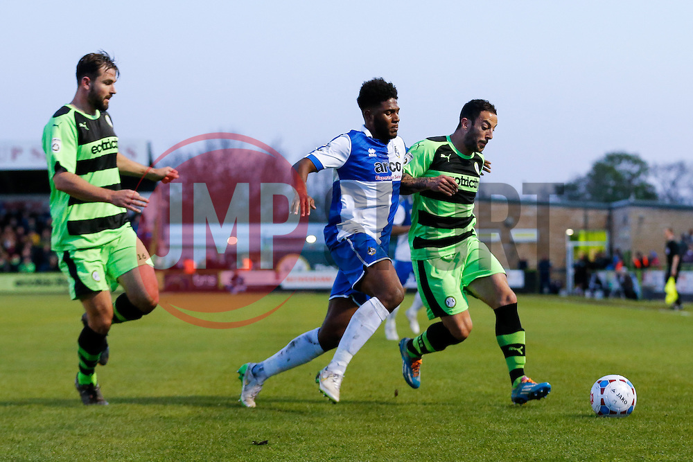 Ellis Harrison of Bristol Rovers - Photo mandatory by-line: Rogan Thomson/JMP - 07966 386802 - 29/04/2015 - SPORT - FOOTBALL - Nailsworth, England - The New Lawn - Forest Green Rovers v Bristol Rovers - Vanarama Conference Premier - Playoff Semi Final 1st Leg.