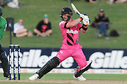 Northern Knights Tim Seifert in action during the Burger King Super Smash T20 cricket match between the Central Stags and the Northern Knights, McLean Park, Napier, Friday, January 25, 2019. Copyright photo: Kerry Marshall / www.photosport.nz
