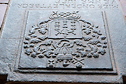 Tombstones in the Dutch Reformed Church in the Galle Fort.
