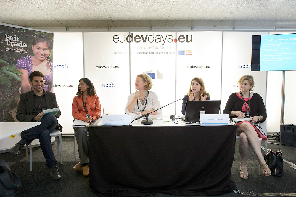 03 June 2015 - Belgium - Brussels - European Development Days - EDD - Trade - Empowering smallholders participation in global supply chains © European Union