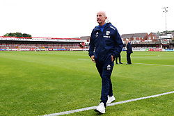 West Bromwich Albion manager Tony Pulis takes a walk on the pitch on arrival at the Wham Stadium - Mandatory by-line: Matt McNulty/JMP - 22/08/2017 - FOOTBALL - Wham Stadium - Accrington, England - Accrington Stanley v West Bromwich Albion - Carabao Cup - Second Round