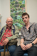 DAVID BAILEY; FENTON BAILEY, Royal Academy Summer Exhibition party. Burlington House. Piccadilly. London. 6 June 2018