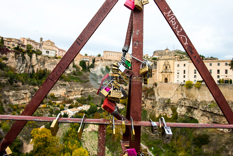Puente de San Pablo. Cuenca. ©ANTONIO REAL HURTADO / PILAR REVILLA