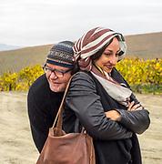 Eugenio Jardim & Cara de Lavallade keep the cold at bay