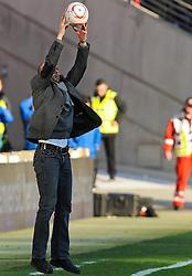 19.03.2011, Commerzbank-Arena, Frankfurt, GER, 1. FBL, Eintracht Frankfurt vs FC St. Pauli, im Bild Holger Stanislawski (Trainer St. Pauli), EXPA Pictures © 2011, PhotoCredit: EXPA/ nph/  Roth       ****** out of GER / SWE / CRO  / BEL ******