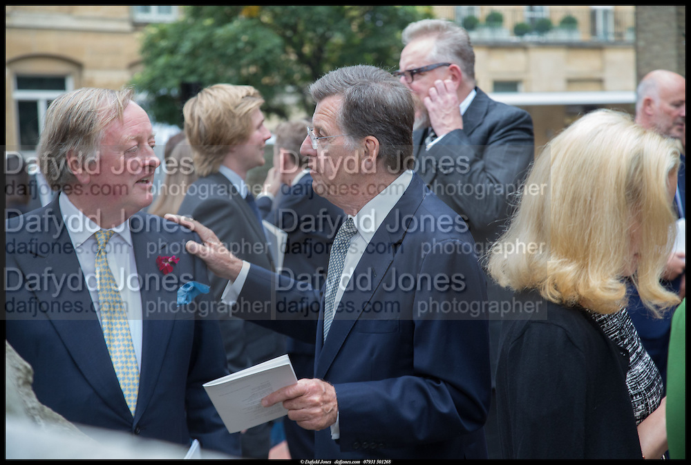ANDREW PARKER BOWLES; SIMON ELLIOT, Memorial service for Mark Shand.  . St. Paul's Knightsbridge. September 11 2014.