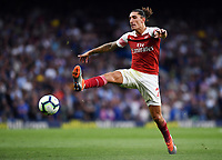 Football - 2018 / 2019 Premier League - Chelsea vs. Arsenal<br /> <br /> Arsenal's Hector Bellerin in action during todays game, at Stamford Bridge.<br /> <br /> COLORSPORT/ASHLEY WESTERN