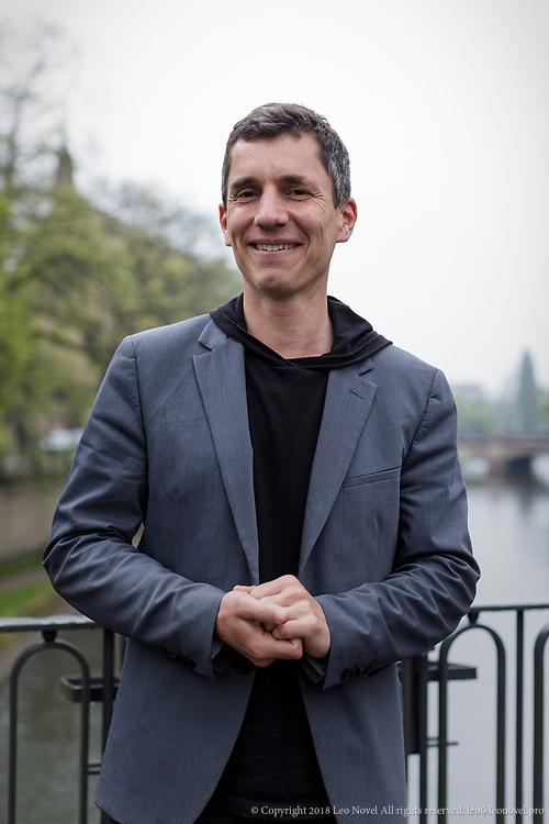 4  May  2017 &ndash; Strasbourg, France<br /> Bruno Studer, 38, High school teacher and member of En Marche movement.