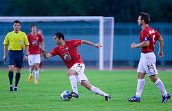 Miha Golob of Rudar at 1st Round of Europe League football match between NK Rudar Velenje (Slovenia) and Trans Narva (Estonia), on July 9 2009, in Velenje, Slovenia. Rudar won 3:1 and qualified to 2nd Round. (Photo by Vid Ponikvar / Sportida)