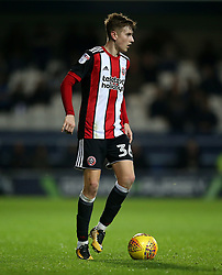 "Sheffield United's David Brooks in action during the game during the Sky Bet Championship match at Loftus Road, London. PRESS ASSOCIATION Photo. Picture date: Tuesday October 31, 2017. See PA story SOCCER QPR. Photo credit should read: Steven Paston/PA Wire. RESTRICTIONS: EDITORIAL USE ONLY No use with unauthorised audio, video, data, fixture lists, club/league logos or ""live"" services. Online in-match use limited to 75 images, no video emulation. No use in betting, games or single club/league/player publications."