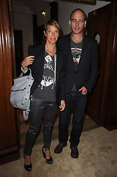 JAKE & TIPHAINE CHAPMAN at a screening of a short film directed by Willem Jaspert and Stephen Langmanis to celebrate the launch of Bella Freud and Susie Bick's first design collaboration held at Town Hall, 8 Patriot Square, London E2 on 6th September 2010.