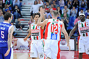 DESCRIZIONE : Pesaro Lega A 2011-12 Scavolini Siviglia Pesaro Bennet Cantu Quarti di Finale Play off gara 3<br /> GIOCATORE : Daniel Hackett<br /> CATEGORIA : esultanza scelta<br /> SQUADRA : Scavolini Siviglia Pesaro<br /> EVENTO : Campionato Lega A 2011-2012 Quarti di Finale Play off gara 3 <br /> GARA : Scavolini Siviglia Pesaro Bennet Cantu<br /> DATA : 22/05/2012<br /> SPORT : Pallacanestro <br /> AUTORE : Agenzia Ciamillo-Castoria/C.De Massis<br /> Galleria : Lega Basket A 2011-2012  <br /> Fotonotizia : Pesaro Lega A 2011-12 Scavolini Siviglia Pesaro Bennet Cantu Quarti di Finale Play off gara 3<br /> Predefinita :