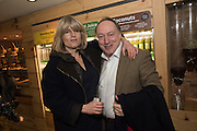 RACHEL JOHNSON;  ANDREW ROBERTS, Launch of The Happy Kitchen: Good Mood Food, by Rachel Kelly and Alice Mackintosh. Squirrel, South Kensington. London. 31 January 2017