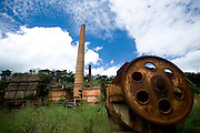 Ponte Nova_MG, Brasil...Usina Anna Florencia, grande produtora de acucar no seculo XVIII...Abandoned sugar factory Anna Florencia, major producer of sugar in the XVIII century...Foto: BRUNO MAGALHAES / NITRO