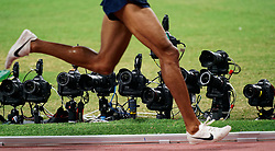 01-10-2019 QAT: World Championships Athletics, Doha<br /> The 2019 IAAF World Athletics Championships is the seventeenth edition of the biennial, global athletics competition organized by the International Association of Athletics Federations / Nikon, Canon and Sony remote camera's