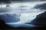 Myrdalsjokull Glacier, Iceland