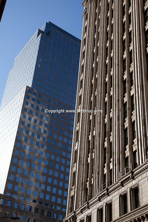 = architecture in  lower manhattan new york ///  achitecture du sud de Manhattan =