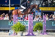 Willem Greve - Grandorado TN<br /> FEI WBFSH World Breeding Jumping Championships for Young Horses 2017<br /> © DigiShots
