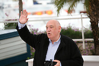 Director Raymond Depardon at the Journal De France photocall at the 65th Cannes Film Festival France. Tuesday 22nd May 2012 in Cannes Film Festival, France.