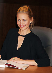 Actress Cameron Diaz signs copies of her new book 'The Body Book' at Barnes & Noble bookstore at The Grove, Los Angeles, California, January 16, 2014. Picture by Nils Jorgensen / i-Images