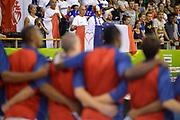 DESCRIZIONE : Lubiana Ljubliana Slovenia Eurobasket Men 2013 Preliminary Round Francia Israele France Israel<br /> GIOCATORE : tifosi Francia supporters fans France<br /> CATEGORIA : tifosi supporters fans<br /> SQUADRA : Francia France<br /> EVENTO : Eurobasket Men 2013<br /> GARA : Francia Israele France Israel<br /> DATA : 06/09/2013 <br /> SPORT : Pallacanestro <br /> AUTORE : Agenzia Ciamillo-Castoria/T.Wiedensohler<br /> Galleria : Eurobasket Men 2013<br /> Fotonotizia : Lubiana Ljubliana Slovenia Eurobasket Men 2013 Preliminary Round Francia Israele France Israel<br /> Predefinita :