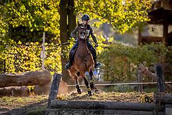 Van Rossum Caroline, BEL, Kalando E vh Juxschot<br /> LRV Ponie cross - Zoersel 2018<br /> © Hippo Foto - Dirk Caremans<br /> 28/10/2018