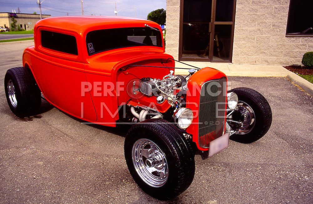1932 3 Window Ford Coupe Hotrod