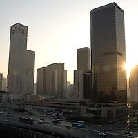 Centro financiero de Beijing, Marzo 2008, Beijing, China. Fotógrafo: Bernardo De Niz
