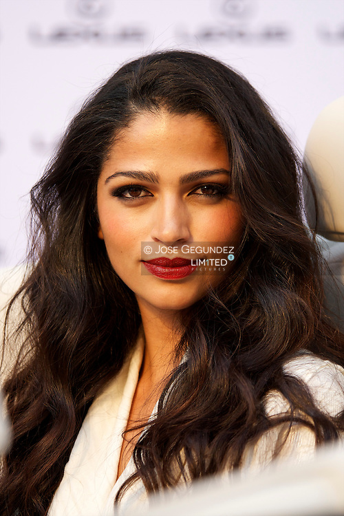 Model Camila Alves hosts Lexus Party at Casino de Madrid on may 5 2011