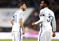 Adam Lallana of England and Danny Rose of England - Mandatory by-line: Robbie Stephenson/JMP - 11/11/2016 - FOOTBALL - Wembley Stadium - London, United Kingdom - England v Scotland - European World Cup Qualifiers