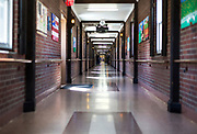 The Hall of Heroes at the Tomah VA Facility in Tomah, Wisconsin, Monday, April 23, 2018.