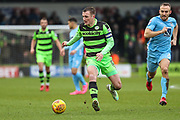 Forest Green Rovers Lee Collins(5) during the EFL Sky Bet League 2 match between Forest Green Rovers and Coventry City at the New Lawn, Forest Green, United Kingdom on 3 February 2018. Picture by Shane Healey.