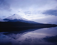 Mt. Fuji Reflected in Lake
